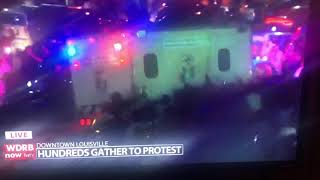 Shots fired during Louisville, Kentucky, protest