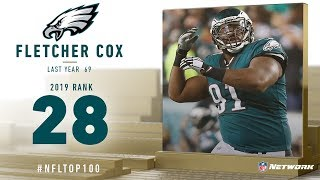 #28: Fletcher Cox (DT, Eagles) | Top 100 Players of 2019 | NFL