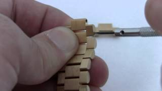 Extra Solid Gold Links for ROLEX