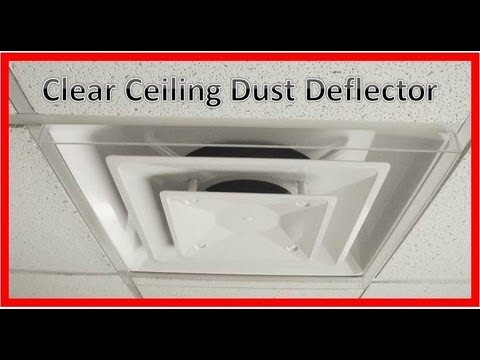 Item # 4871 Ceiling Dust Deflector-Clear