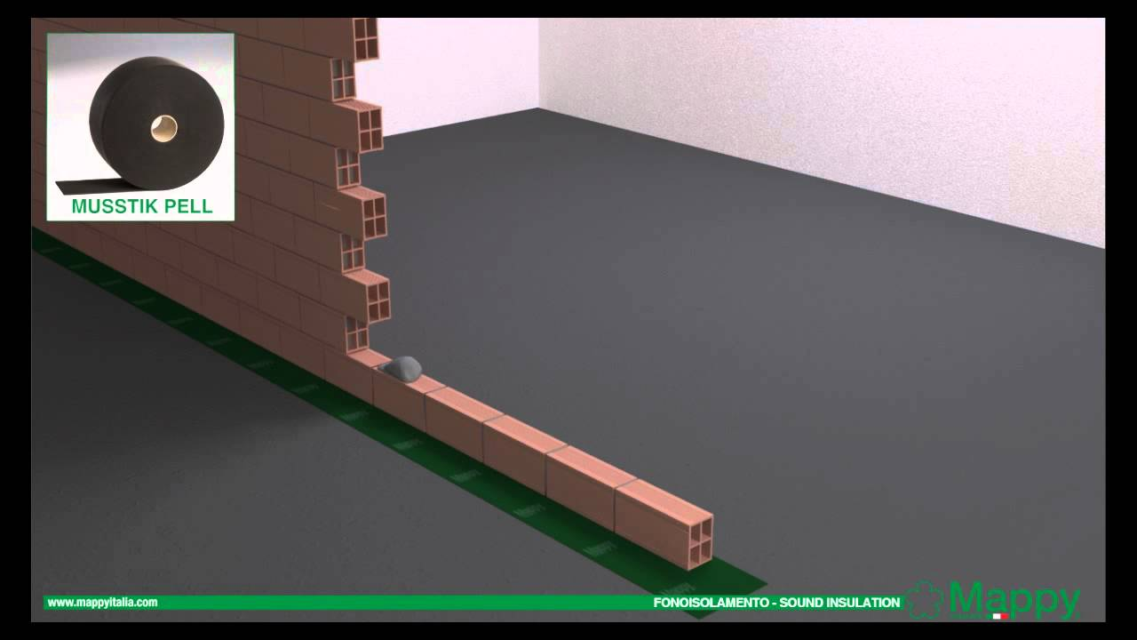 Mappy italia: isolamento acustico pareti 1° costruzione acoustic