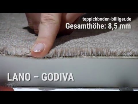 """Billiger teppichboden  Der Wohlfühl-Teppichboden """"Lano Godiva"""" - YouTube"""