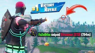 This Trickshot got the Infinity Blade VAULTED in Fortnite