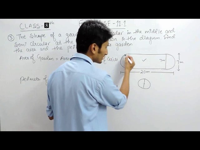 Exercise 11.1 Questions 3 - NCERT CBSE Solutions for Class 8th Maths
