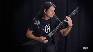 ESP Guitars: LTD Arrow Black Metal Demo by Eli Santana