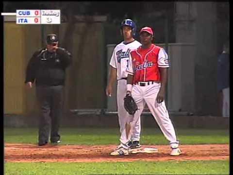 Italian Baseball Week 2009, Italia-Cuba