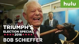triumph and bob schieffer face the nation triumph on hulu