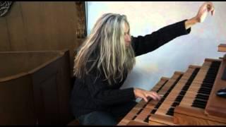 Jan Vayne speelt improvisatie op Hauptwerk van the Beatles met Vayne audio