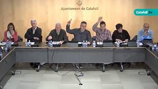 Ajuntament de Calafell: sessió plenària ordinària, 5 de febrer de 2018