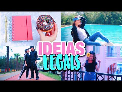 IDEIAS PARA TIRAR FOTOS LEGAIS!
