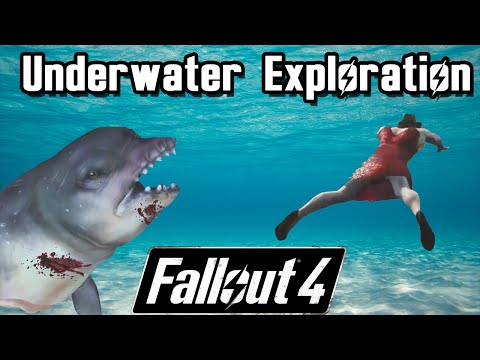 Underwater Exploration! Will there be easter eggs? | Fallout 4
