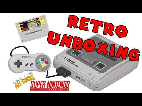 Retro Unboxing - SNES Super Mario All Stars Bundle - ITA