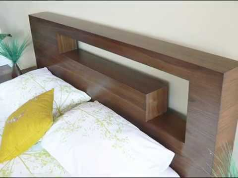 Custom made Modern Contemporary Platform Bedroom Furniture - Hangul Bedroom  set