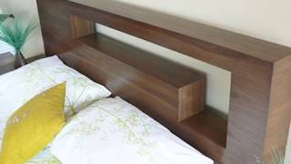 Custom Made Modern Contemporary Platform Bedroom Furniture - Hangul Bedroom Set