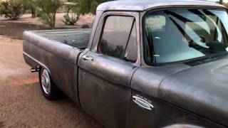 Eco1 1966 Ford F100 Twin Turbo January 2017 Walk Around Video