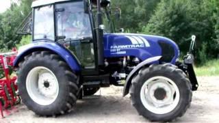 Ciągnik rolniczy FARMTRAC 690DT z agregatem uprawowym Unia