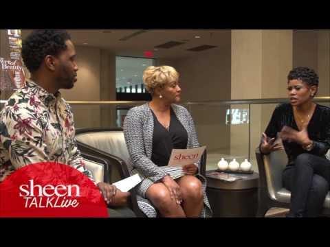 SHEENTALK live New Episode Commercial with actress Jasmine Burke