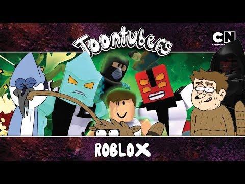 Quem pediu mapa de Roblox pra gente jogar levanta a mão!!!! | ToonTubers | Cartoon Network
