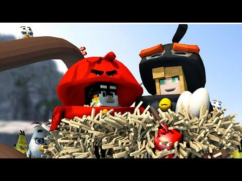 Minecraft | MORPH HIDE AND SEEK - Angry Birds Movie Mod! (Angry Birds Movie)