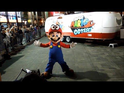 Super Mario Odyssey Launch Event at Nintendo NY (Reggie Fils-Aimé Appearance)