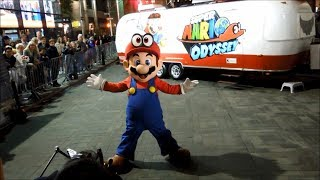 Super Mario Odyssey Launch Event at Nintendo NY (Reggie Fils-Aimé Appearance)