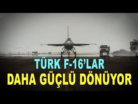 F16 Türk mühendisiyle güçleniyor - F16 aircraft life is extended - Savunma Sanayi - TUSAŞ