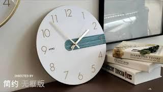 벽걸이전자시계 개업선물 모던 인테리어 특이한 벽시계