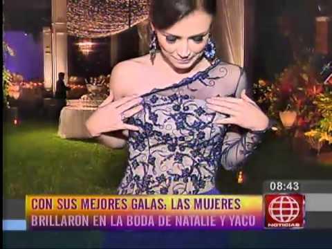 Yaco y Natalie: Luciana Fuster deslumbró en la alfombra roja