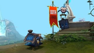 Chirpy Pack The Summit courier preview Dota 2