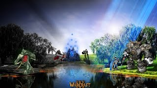 играем в warcraft 3 карта greed td circle