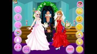 Frozen Sisters Bride Contest (Холодное сердце Эльза и Анна: модная битва невест)