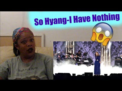 So Hyang- I Have Nothing She better SANG
