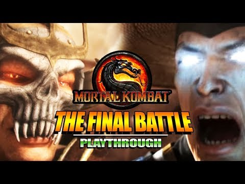 THE FINAL BATTLE & Story Mode Review/Thoughts: Mortal Kombat 9 (Finale) thumbnail