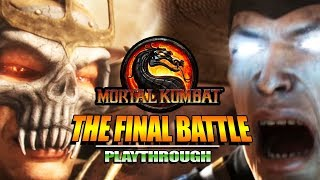 THE FINAL BATTLE & Story Mode Review/Thoughts: Mortal Kombat 9 (Finale)