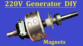 Free Energy | 220v AC Motor to Generator - PCBWAY