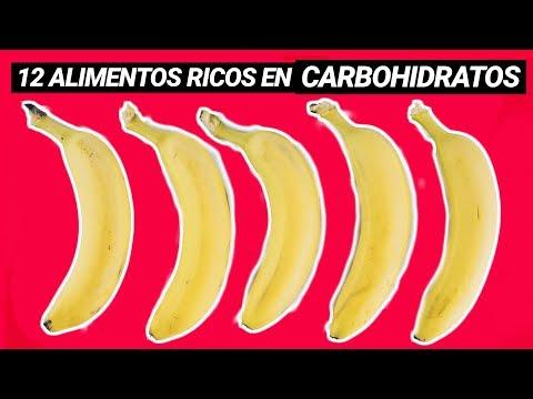 12 ALIMENTOS SALUDABLES RICOS EN CARBOHIDRATOS BUENOS (HIDRATOS DE CARBONO)