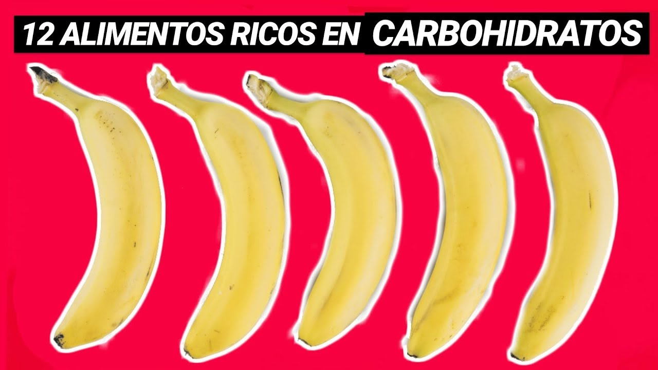 12 ALIMENTOS SALUDABLES RICOS EN CARBOHIDRATOS BUENOS ️