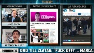 """Fotbollskanalen Headlines: """"Vem läcker från PSG:s omklädningsrum?"""" - TV4 Sport"""