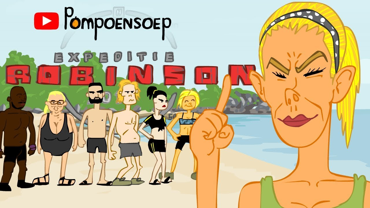 Expeditie Robinson Parodie Cartoon