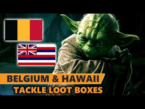 Belgium says Loot Boxes are Gambling, Hawaii says they are Predatory Practices