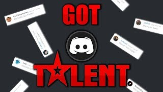 I Hosted A Discord Talent Show
