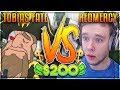 REDMERCY VS TOBIAS FATE! IT FINALLY HAPPENED!!!!! $200 1v1 SHOWDOWN!!  - League of Legends