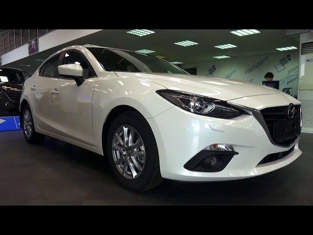 2015 Mazda 3 1.6 AT Active+. Обзор.