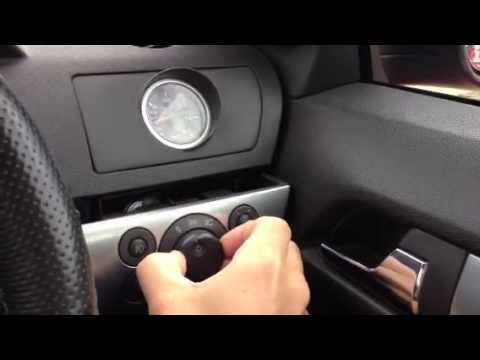 Astra H Headlight Switch Youtube