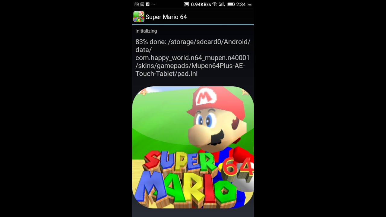 How to download super Mario 64 apk on android (no needed pc)