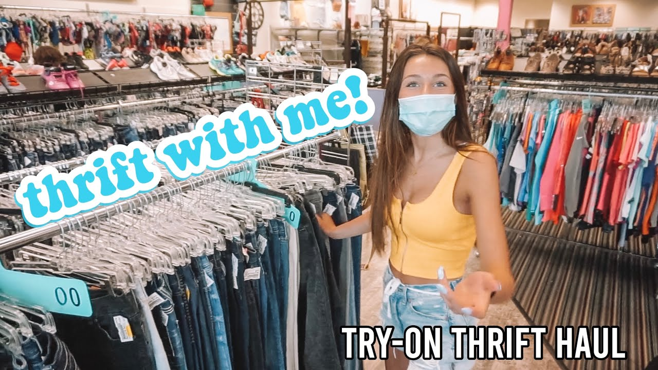 thrift with me! *trendy summer try-on haul*