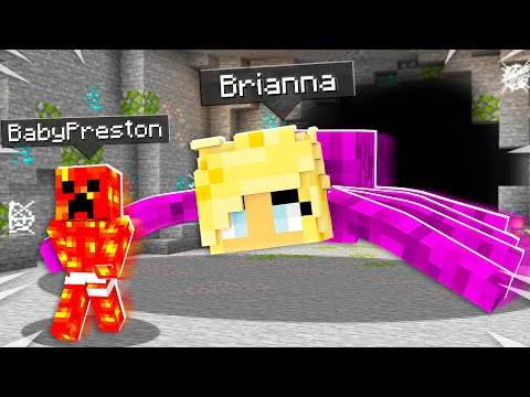 How to Prank Baby Preston as a Mob in Minecraft!