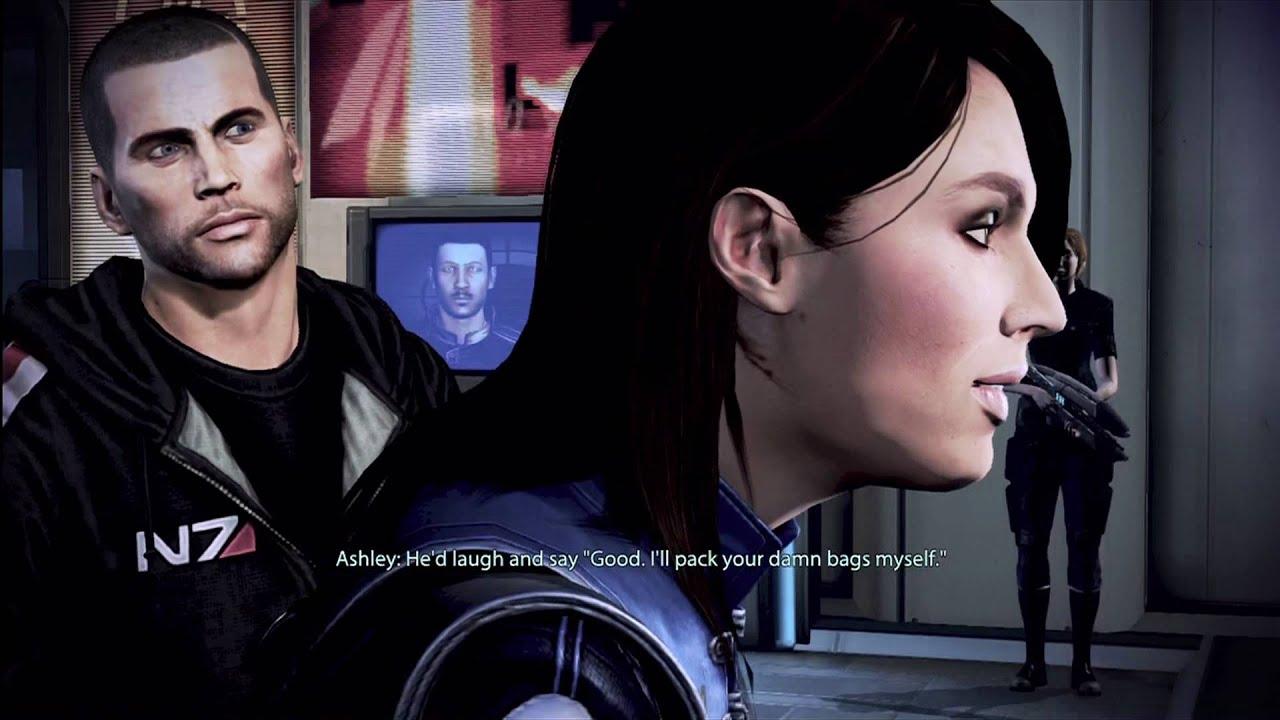 Mass Effect 3 - Date With Ashley Williams - Romance -8251