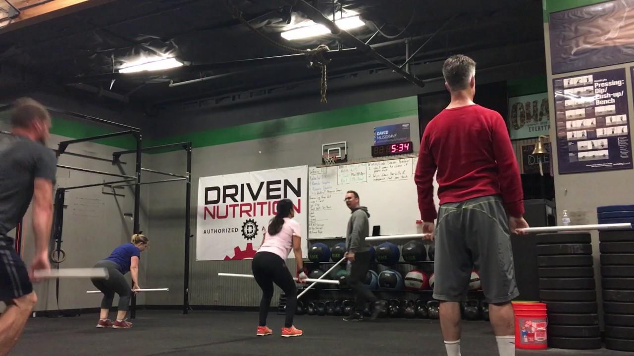 Coach Dave   Power Clean Progression