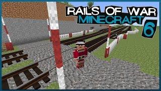 MINECRAFT: Rails of War [#6] Nowa Stacja w Budowie